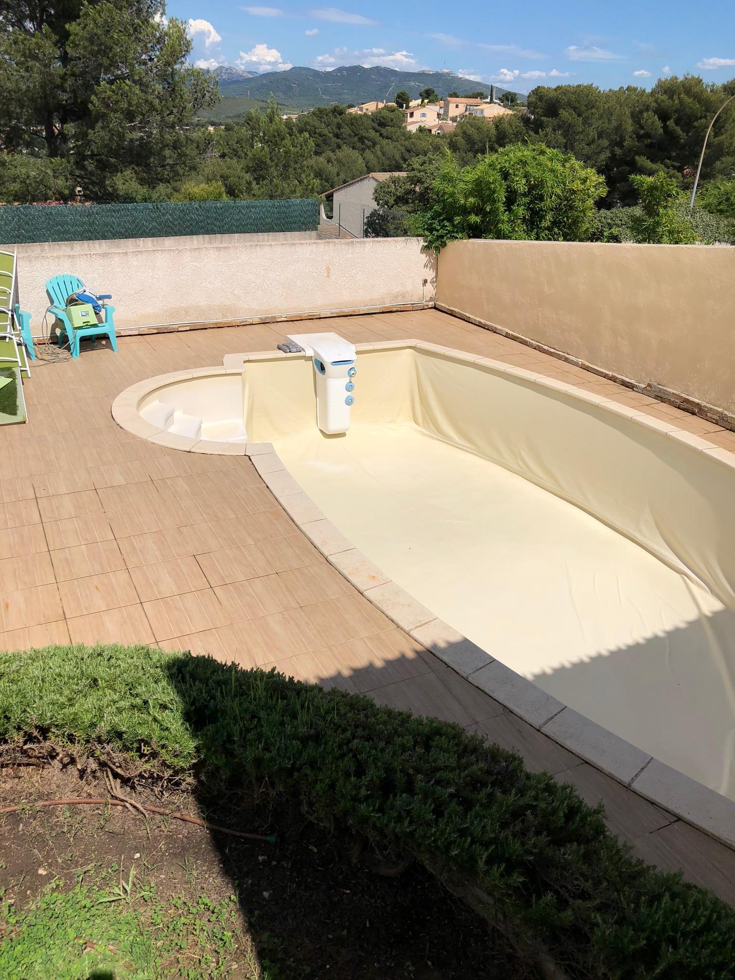 Une piscine propre avant l'été